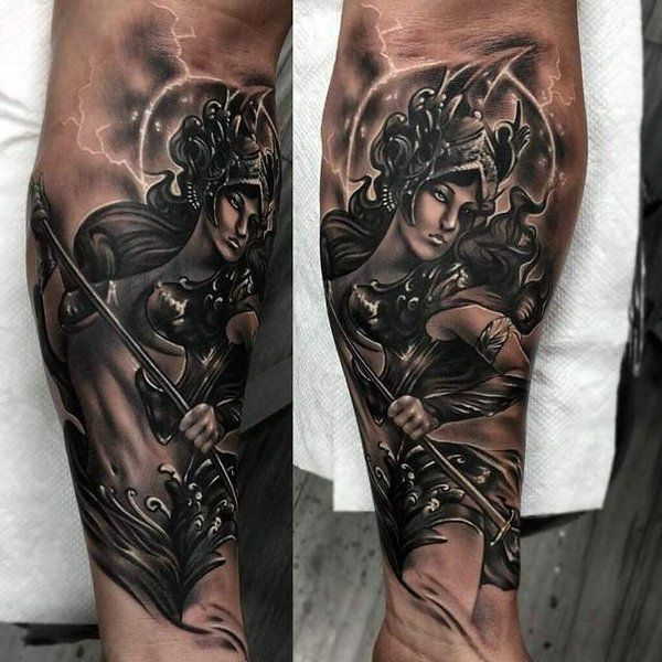 Athena Goddess Tattoos Blueinkaholiktattoos On Twitter