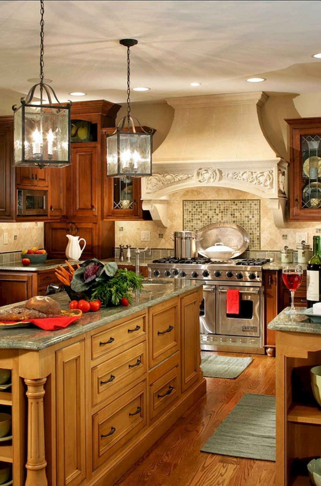 11 elegant modern rustic farmhouse kitchen cabinets ideas in 2020 french country kitchens on farmhouse kitchen hutch id=93903