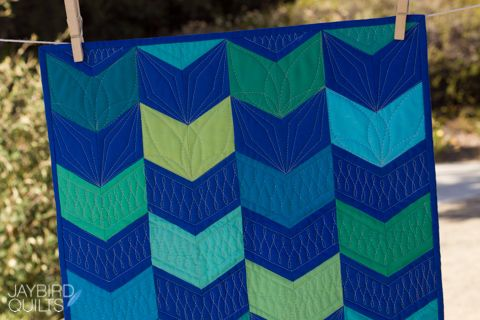Jaybird Quilts Mini Giggles Quilt, made with the Sidekick ruler ... : online quilt shops - Adamdwight.com