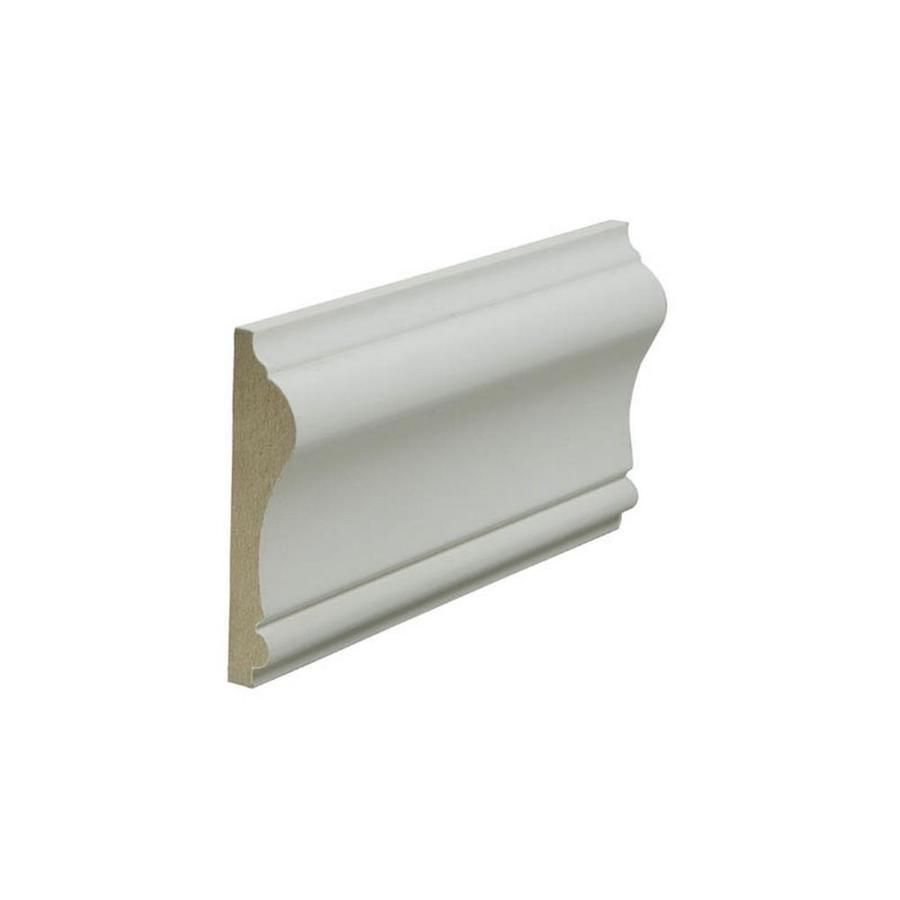 2 5 8 In X 12 Ft Painted Mdf Chair Rail Moulding Actual 2 625 In