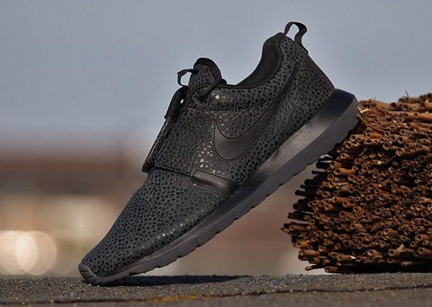 "official photos f0e21 da0fe ... Nike Roshe Run NM ""Black Safari"""