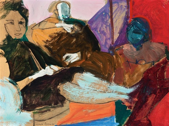 THEOPHILUS BROWN Artist, Bay area figurative movement