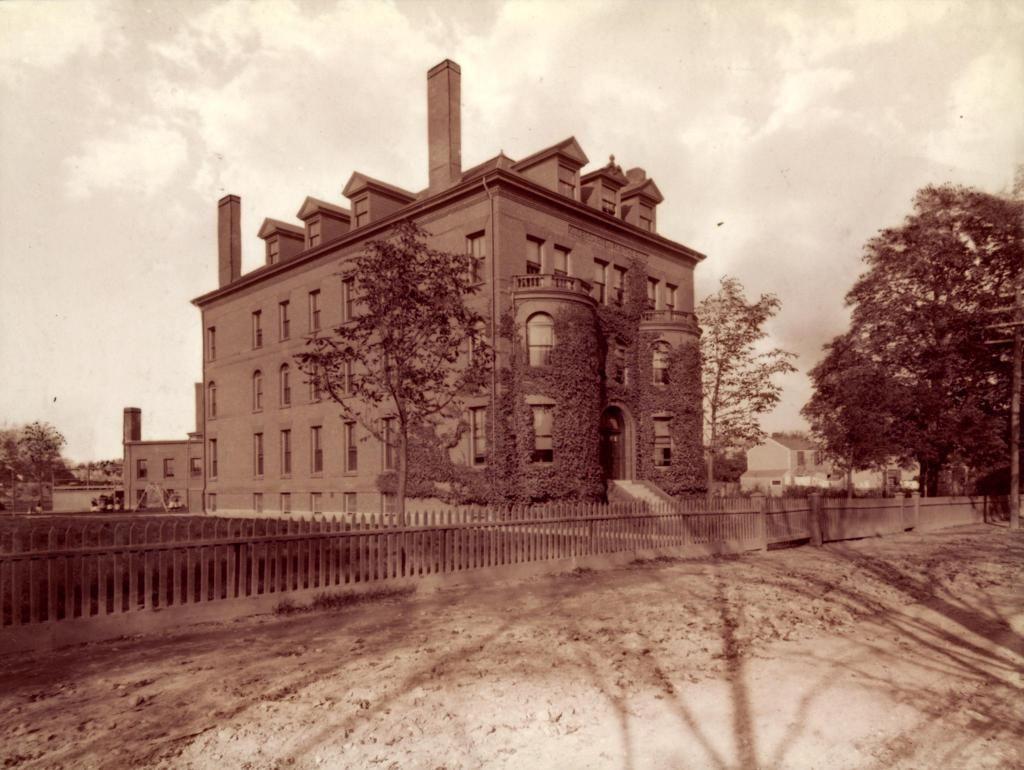 Kindergarten building in Jamaica Plain, MA from 18861913