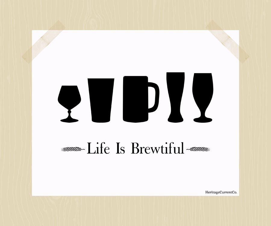 Quotes About Life And Beer. QuotesGram Craft beer quotes