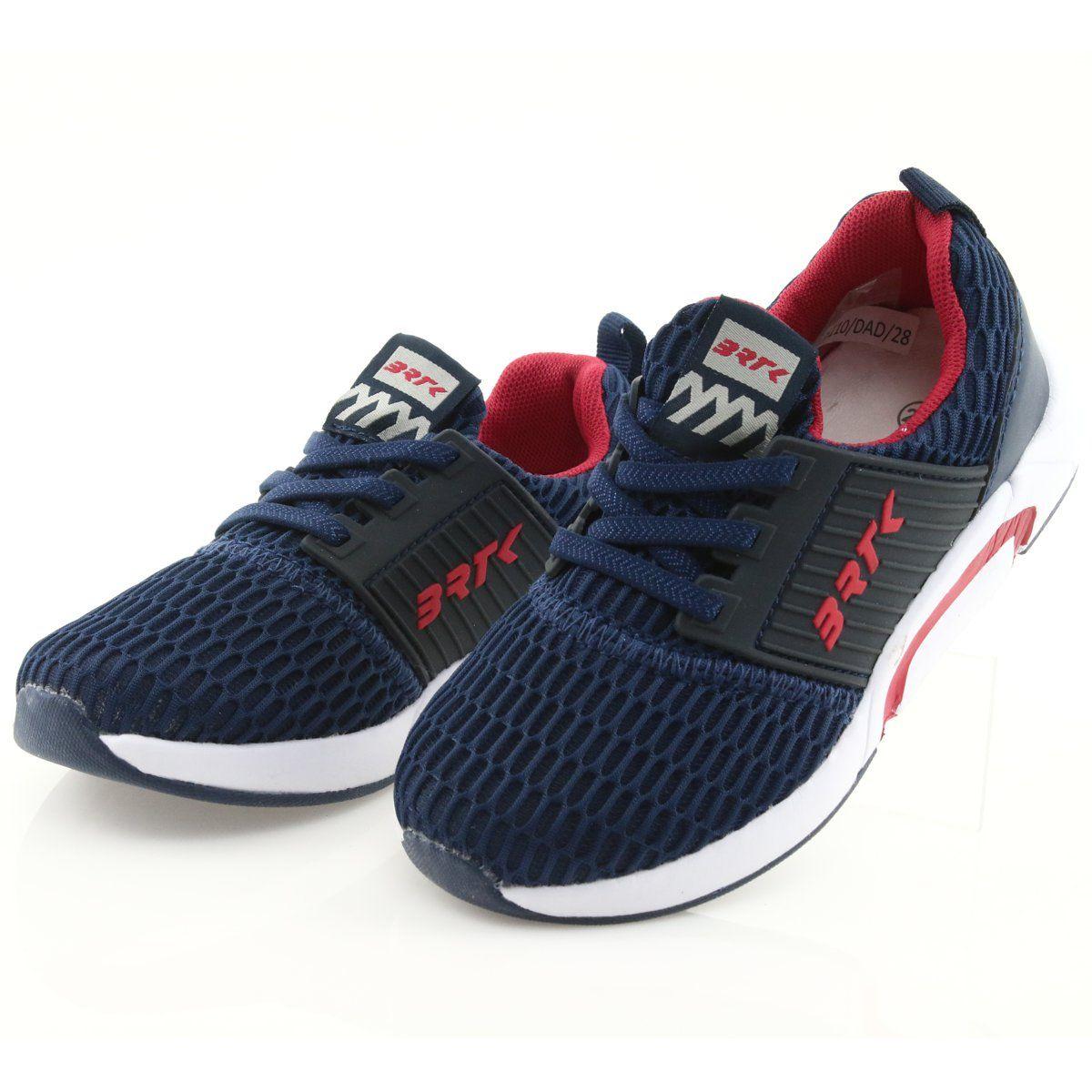 Bartek 55110 Buty Sportowe Wsuwane Granatowe Czerwone Sports Shoes Kid Shoes Shoes