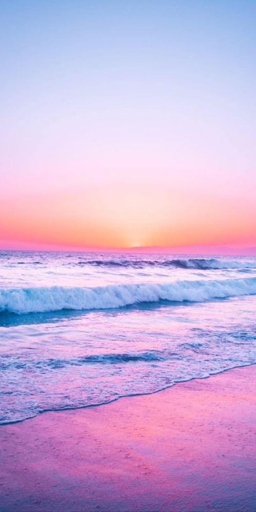 Pic of the Day...Just Peachy 🍑 ---------------- #beach #sunrise #sunrises #tropics #paradise #travel #beaches