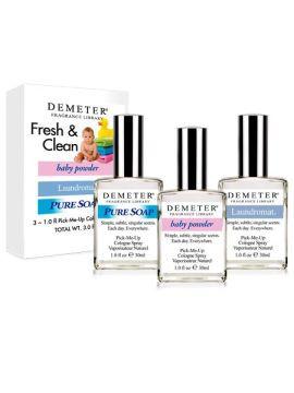 Demeter Fragrances Fresh & Clean 1 oz Set