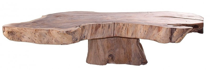 V Home Table Basse Ethnique Suar Massif Clair Vieilli Samzira Lestendances Fr Table Basse Massif Table