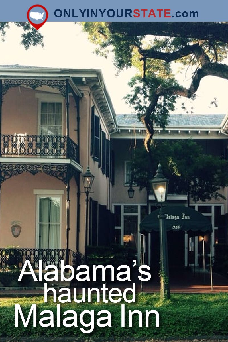 The Haunting Story Of This Alabama Hotel Will Send Shivers Down Your Spine Haunting Haunted Places Haunted Hotel