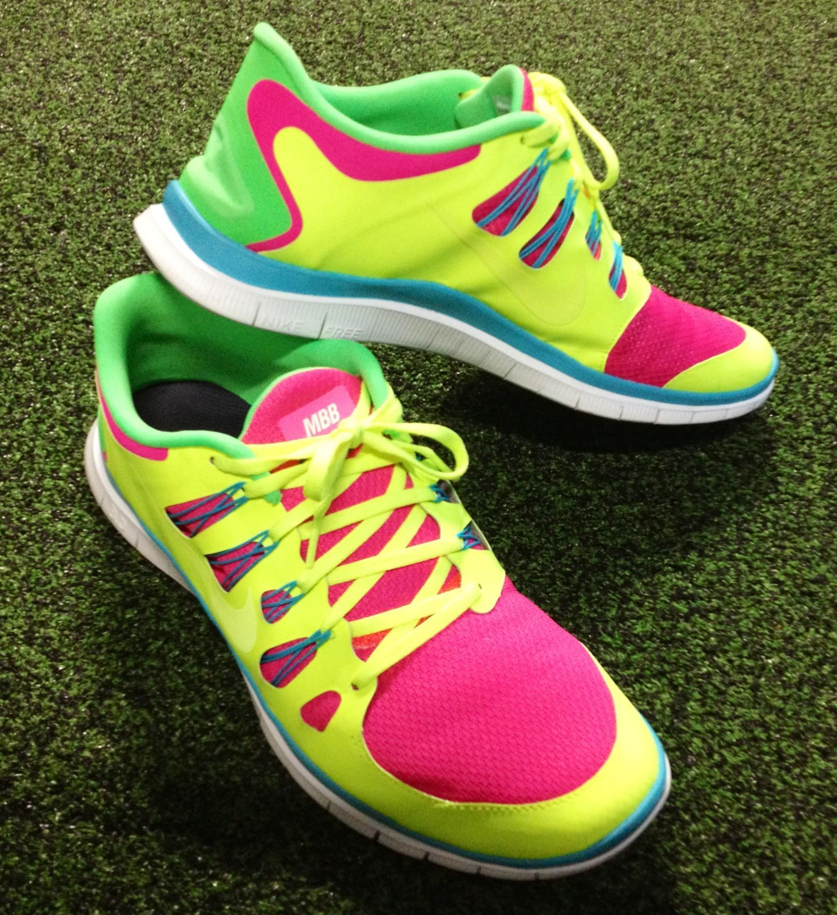 New custom MBB kicks! #fitness #workout #lover #style #personaltrainer #bootcamp #fitfam #healthy #e...