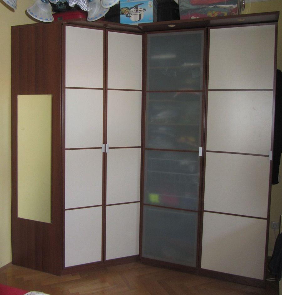 Photo Gallery Of Ikea Hopen Corner Wardrobe Viewing 6 Of 20