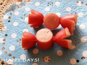 飾り切り ウインナーキャンディ キャラ弁 by まゃたん レシピ フードカービング 食べ物のアイデア レシピ