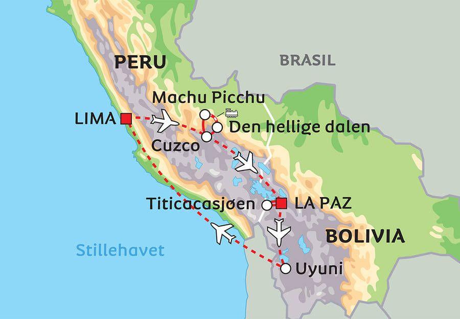 Peru og Bolivia – Andesfjellenes høyslette