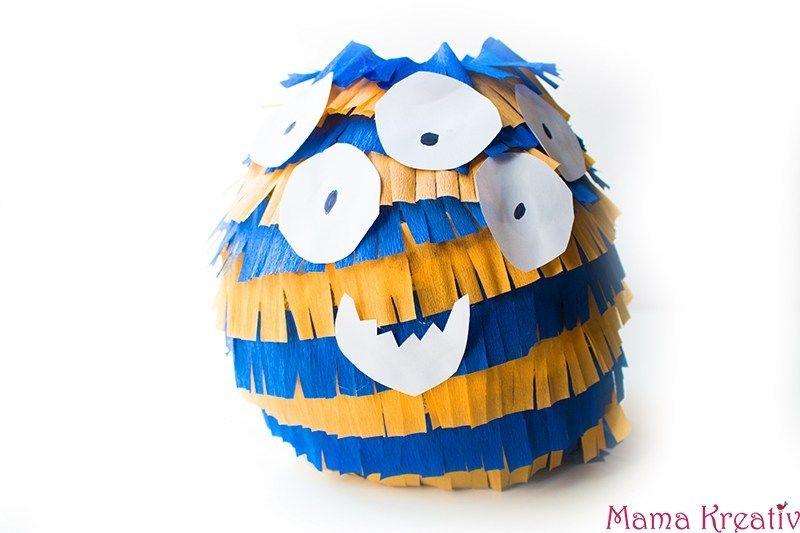 Monster Geburtstag Spiele Deko Und Rezepte Mama Kreativ Kindergeburtstag Feiern Pinata Selber Machen Ninjago Geburtstag