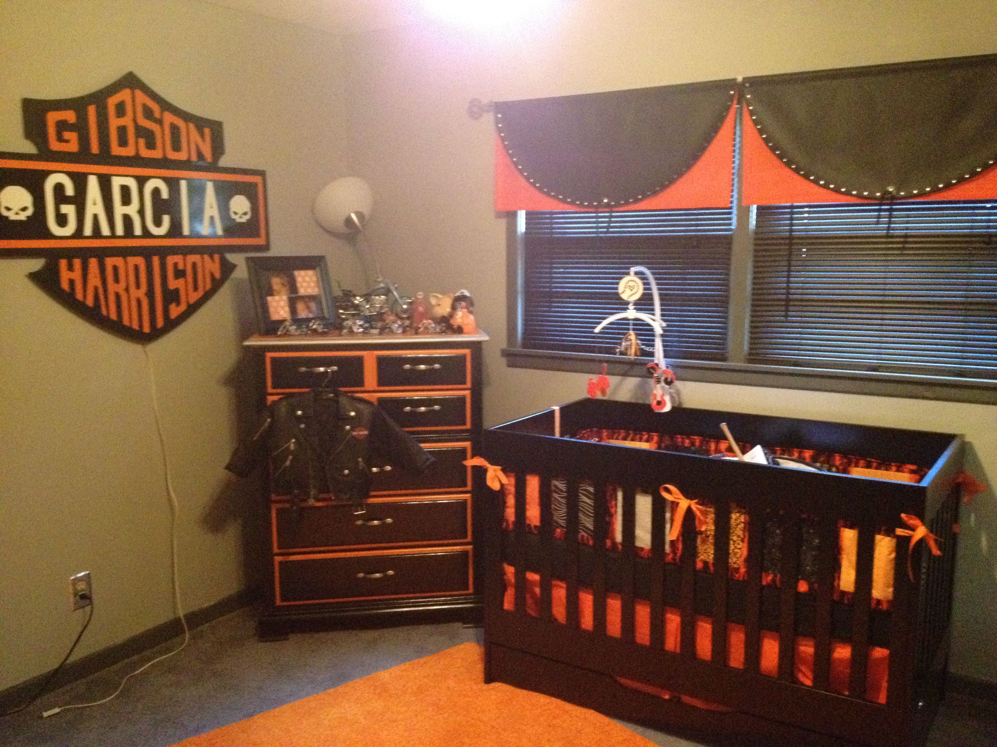 Harley Baby Room What You Can T See Is The Tool Bench We