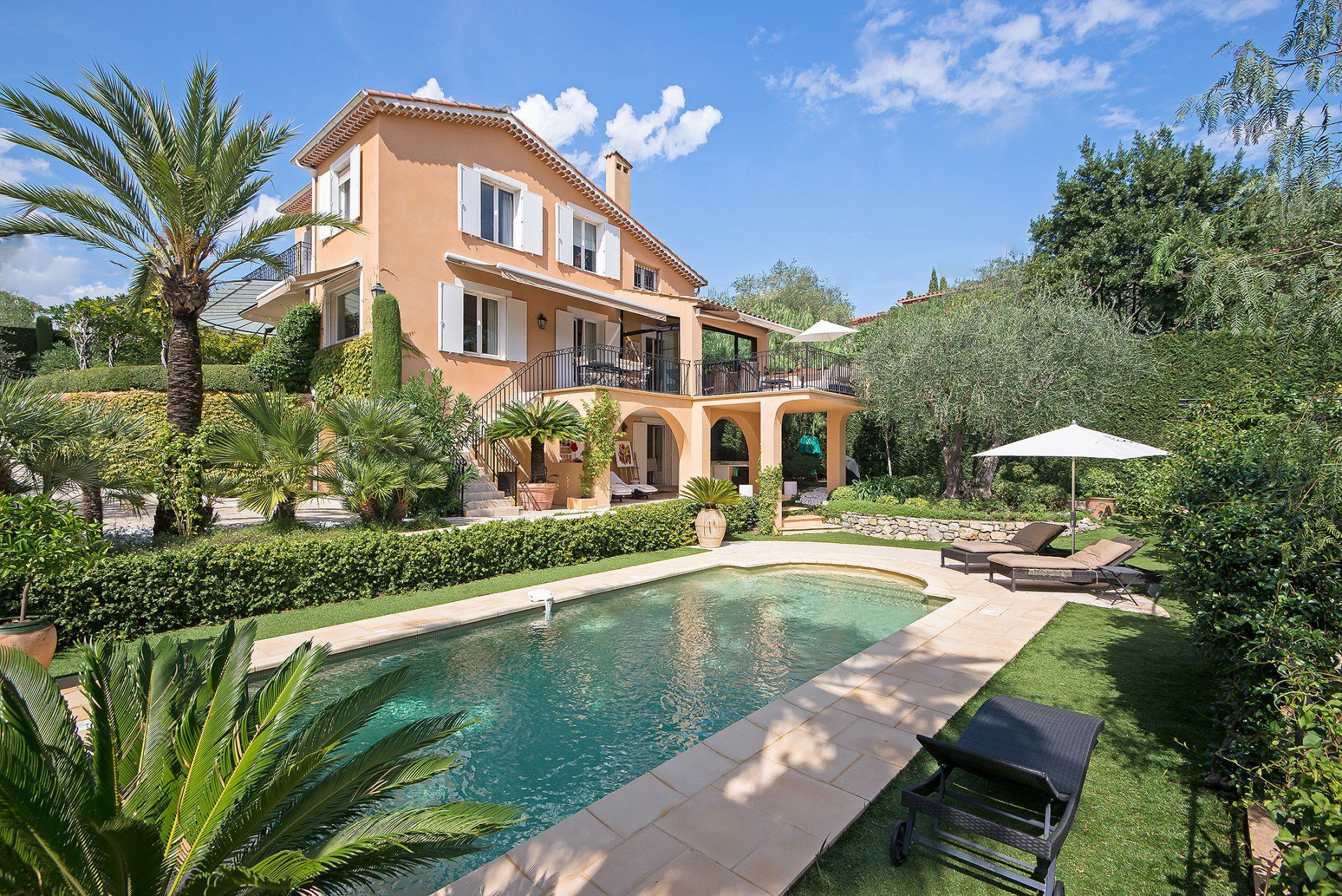 stunning french villas for sale gardens villas and lush