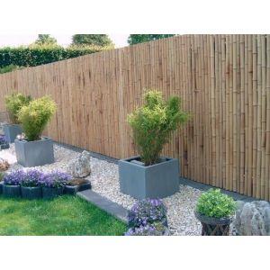 Een bamboe schutting in je tuin restaurant deco pinterest gardens japan garden and - Deco tuin ...