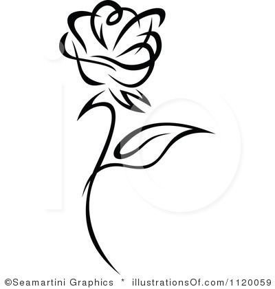 Black And White Rose Border Clip Art Clipart Panda Free Clipart Free Vector Illustration White Rose Tattoos Clip Art Borders