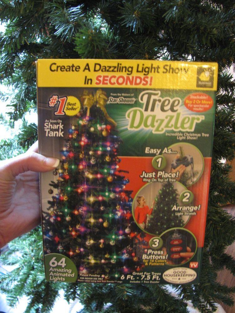 star shower tree dazzler christmas led 16 light patterns as seen on tv bulb head asseenontv