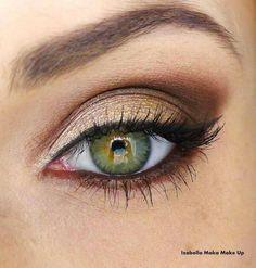 I wish I had green eyes! :/
