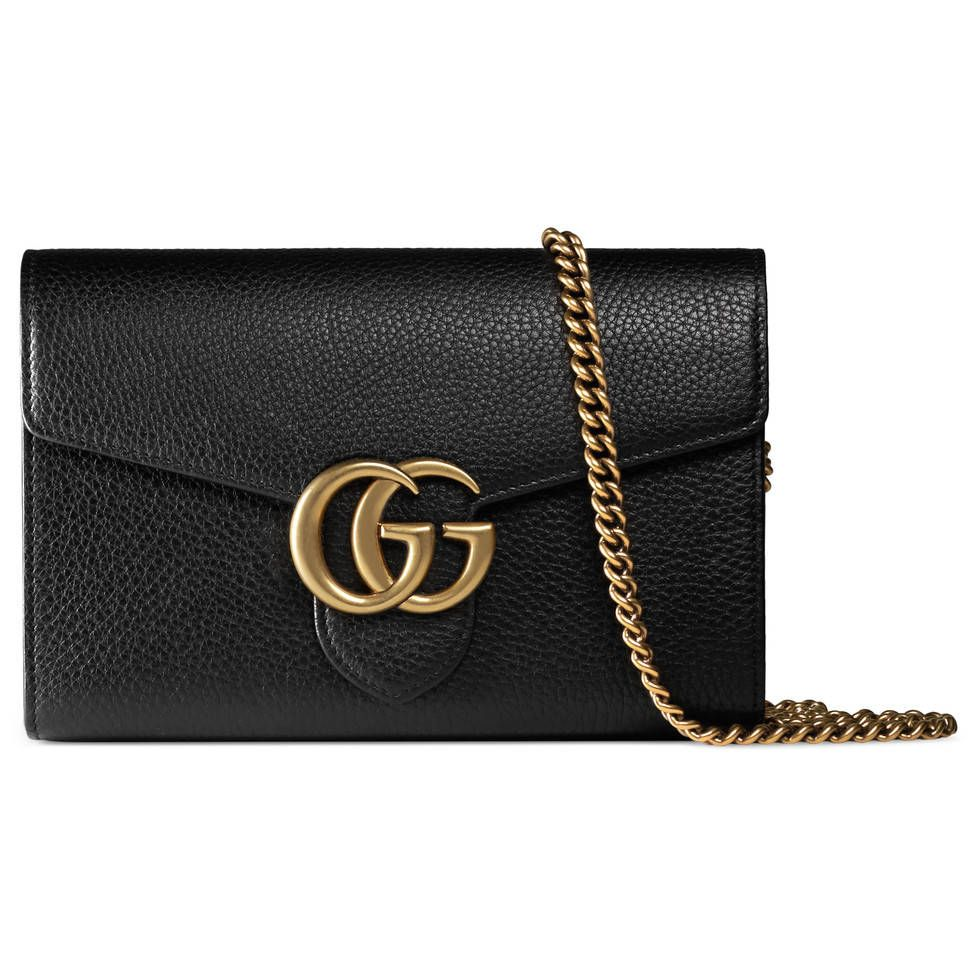 6113f5de58cc Yes, please. Gucci bag with updated GG logo and chain strap. | Bags ...
