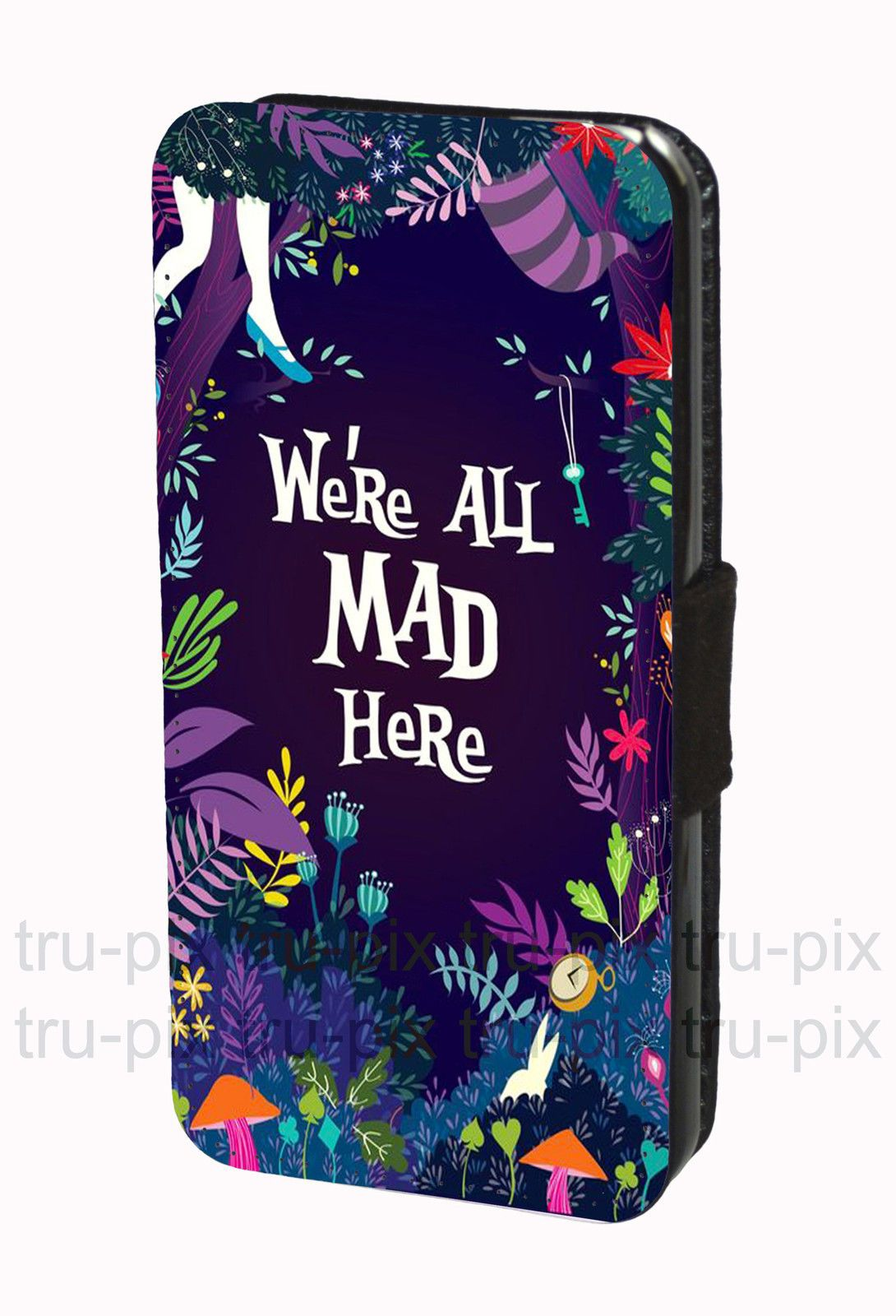 timeless design fcc18 e897a Details about Walt Disney Alice in Wonderland Phone Case Cover For ...