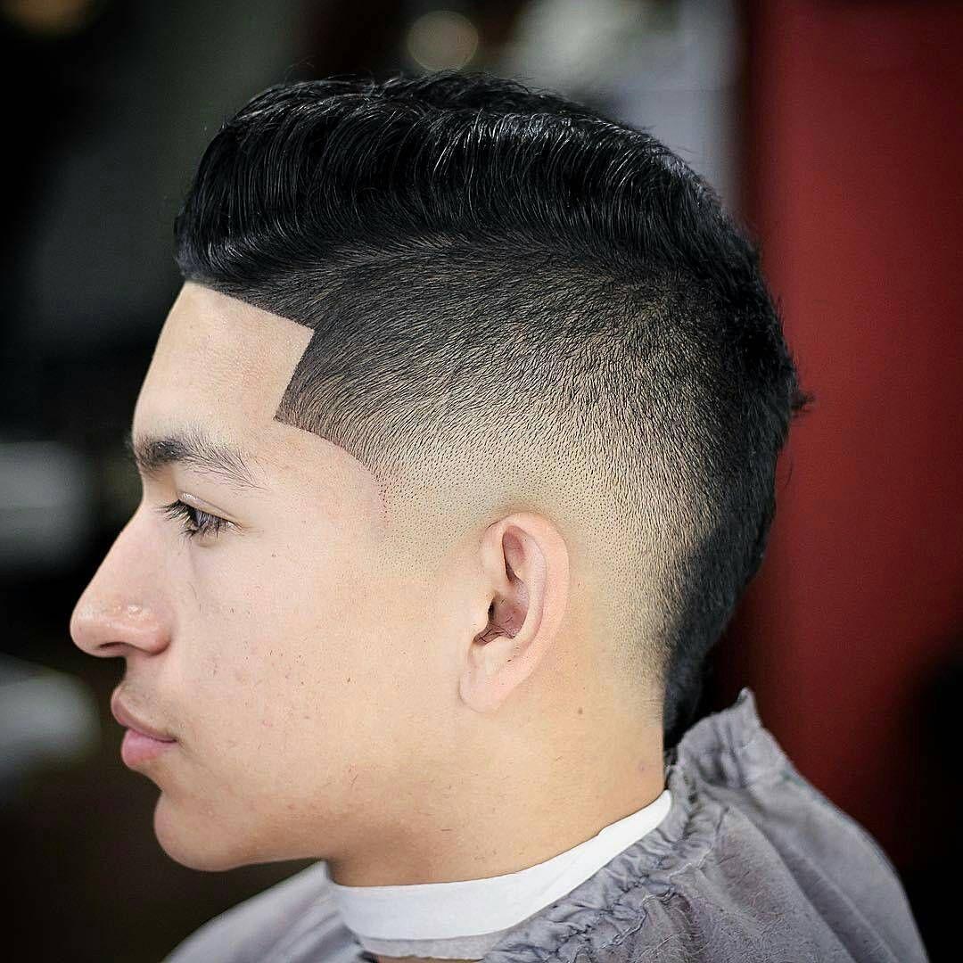 how to cut a faux hawk fade