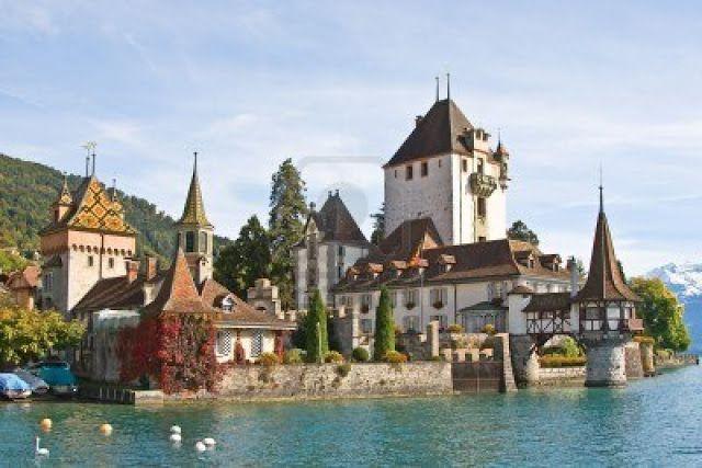 Beautiful Switzerland Castle Beautiful Castles Architectural