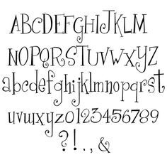 Creative Hand Lettering Alphabets