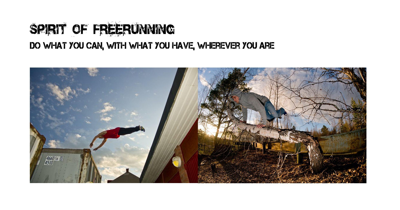 Spirit of Freerunning - Story architect- #Sweden #crossmedia #transmedia #cvd2013 #Webdoc