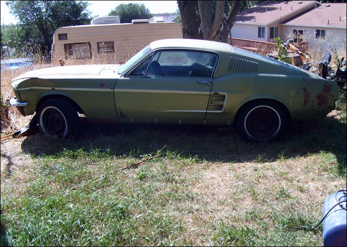 67 fastback - Rusty Old Cars For Sale