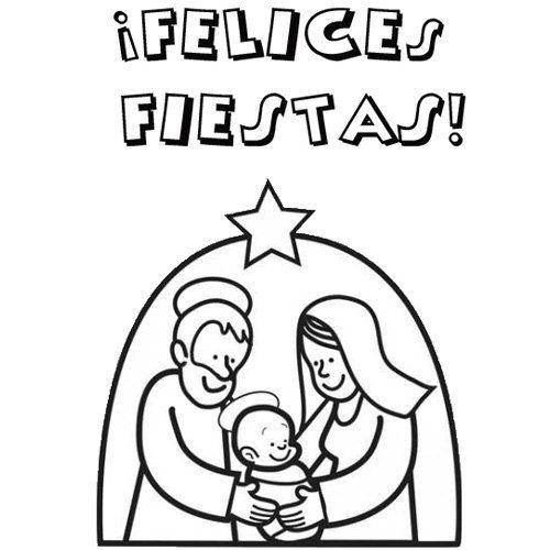 Tarjetas de navidad para imprimir y colorear para niños - Nocturnar ...