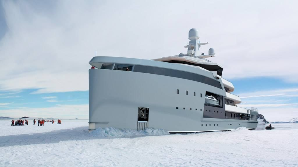 The New Line Of Expedition Yachts From Dutch Shipbuilders Damen - Giga yacht takes luxury oil tanker sized extreme