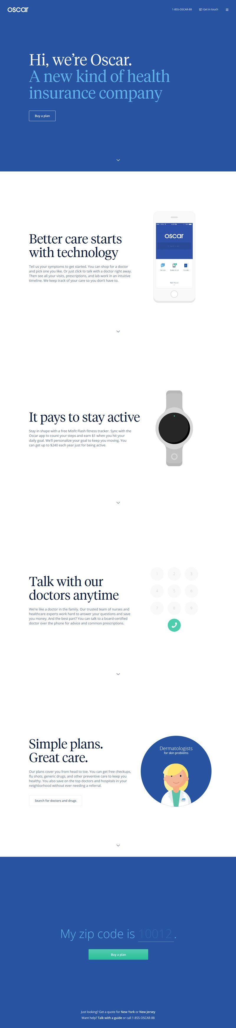 Oscar Flat Design Web Design Flat Design Website Website Design