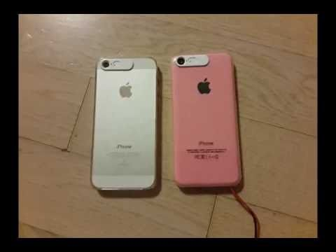 VanD Flashing LED Case for iPhone 5C/5S/5