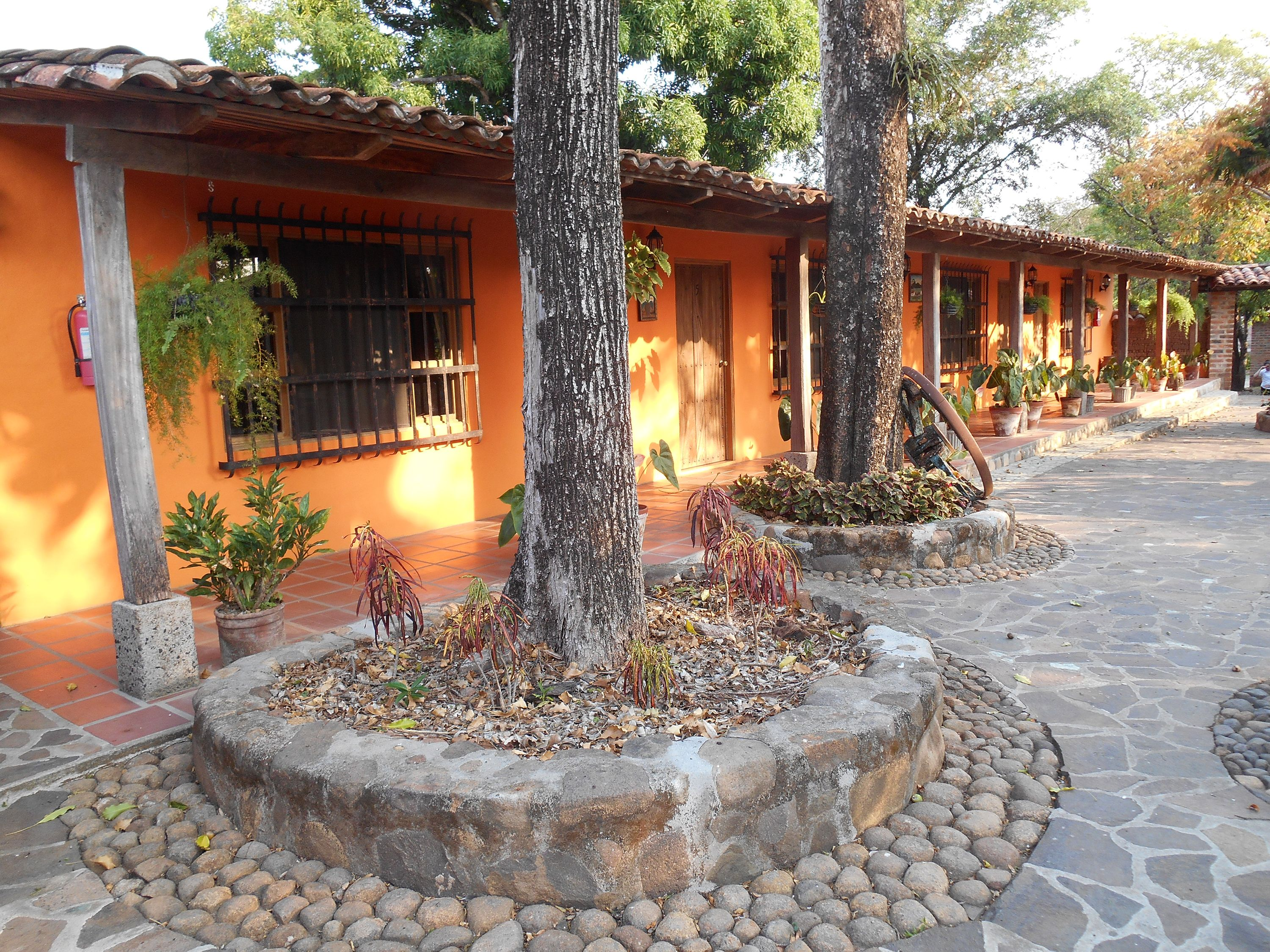 el tejado hotel and restaurant in suchitoto el salvador https