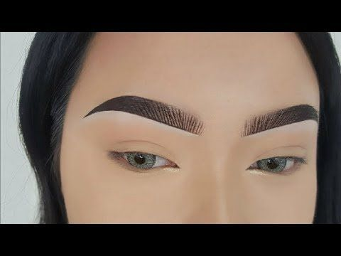 Eyebrow Tutorial - Fake Hair Stroke - YouTube #eyebrowstutorial Eyebrow Tutorial - Fake Hair Stroke - YouTube #eyebrowstutorial
