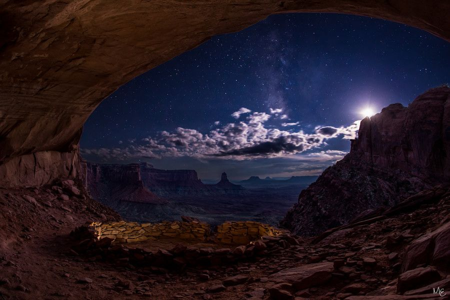 500px Starry Night In The False Kiva By Mark Epstein