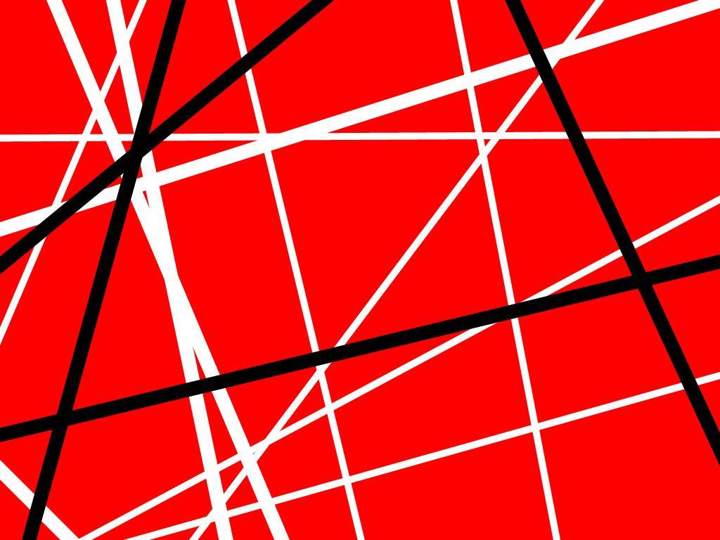 Iconic Stripes Vanhalen Stripes Van Halen Wallpaper Red Wallpaper