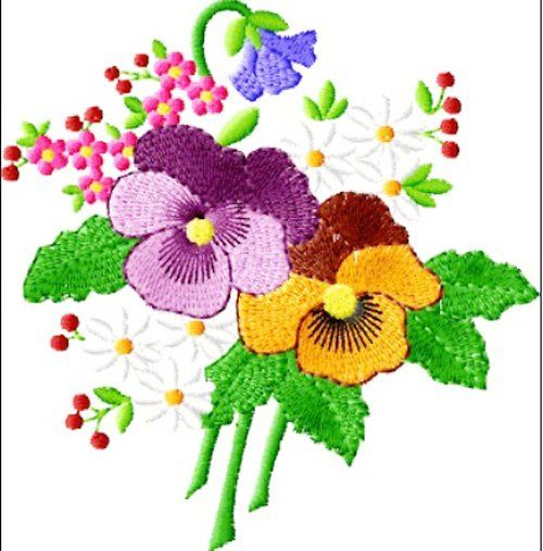 Free floral embroidery design download google search