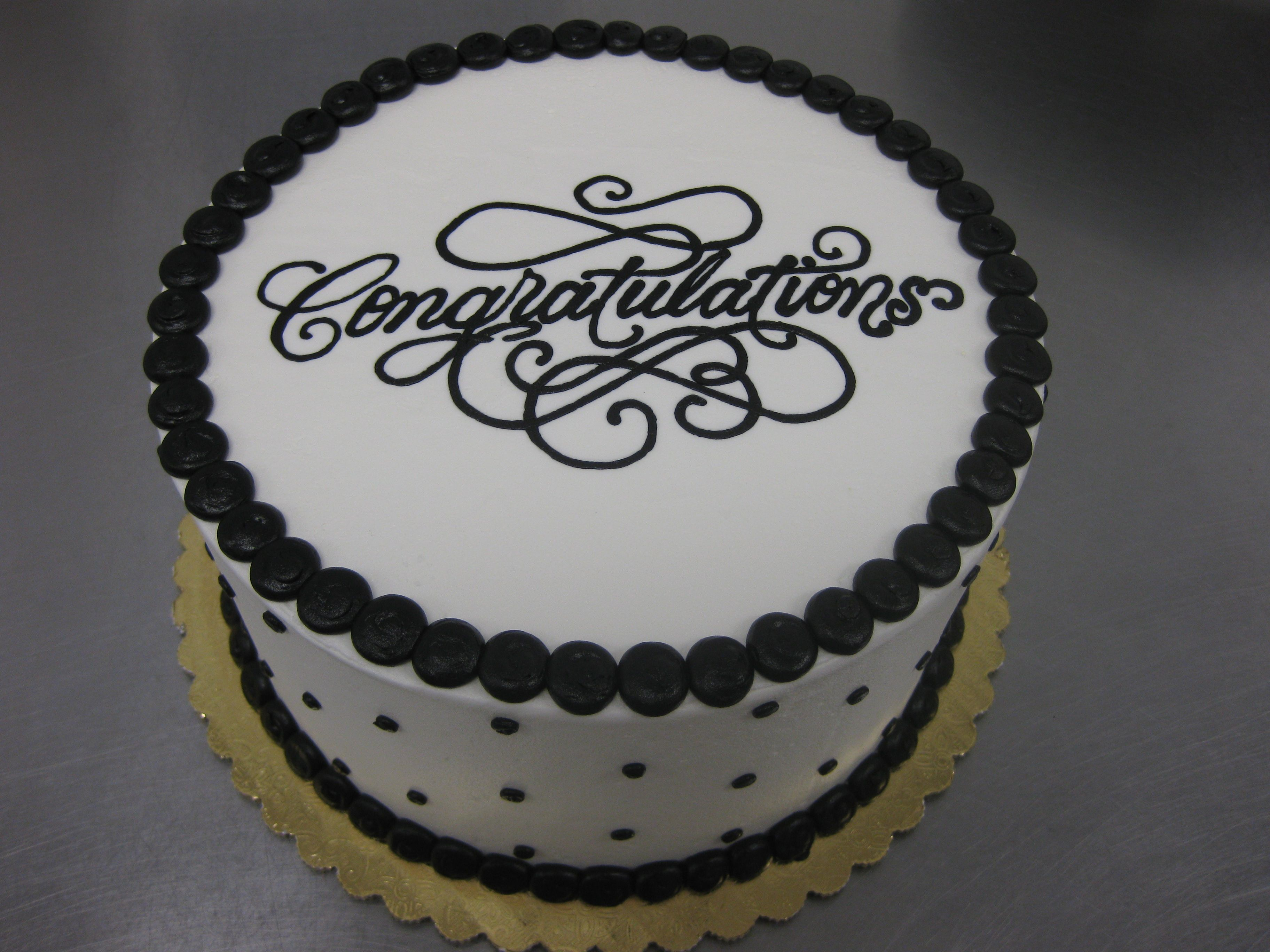 Congratulations Cake With Images Congratulations Cake
