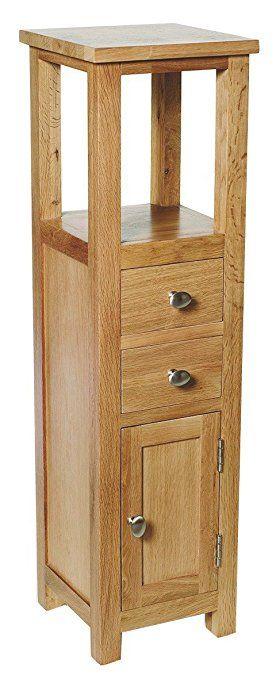 adbba983c262 Waverly Oak Tall Cabinet in Light Oak Finish