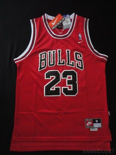 REALLY WANT!!!!! Chicago Bulls 23 Michael Jordan Swingman Jersey Red ... 287a53e21