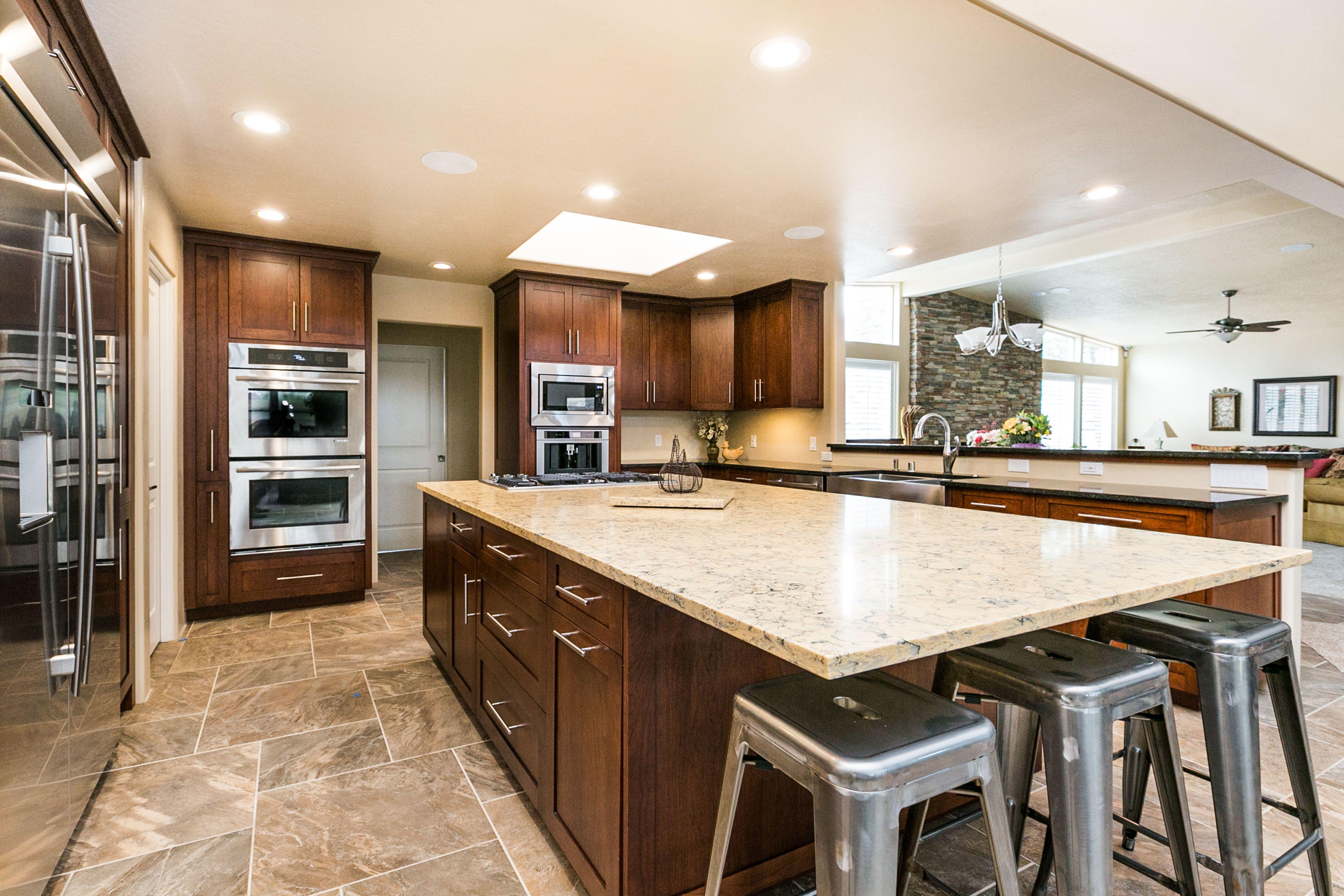 Hernandez Residence Albuquerque Kitchen Remodel Design Alliance Inc Countertop Design Kitchen Remodel Design Kitchen Remodel