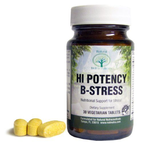 Natural Nutra Vitamin B Complex With Vitamin C Passion Flower And Valerian Root 30 Tablets Stress Relief Food Vitamin B Complex Valerian Root