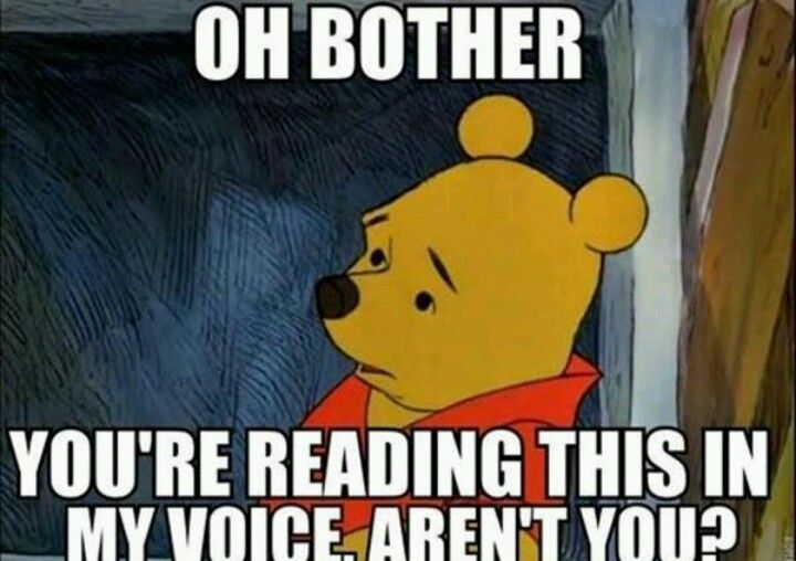 Oh bother...