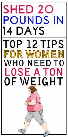 12 Awesome Tips for Women to Lose a Ton of Weight