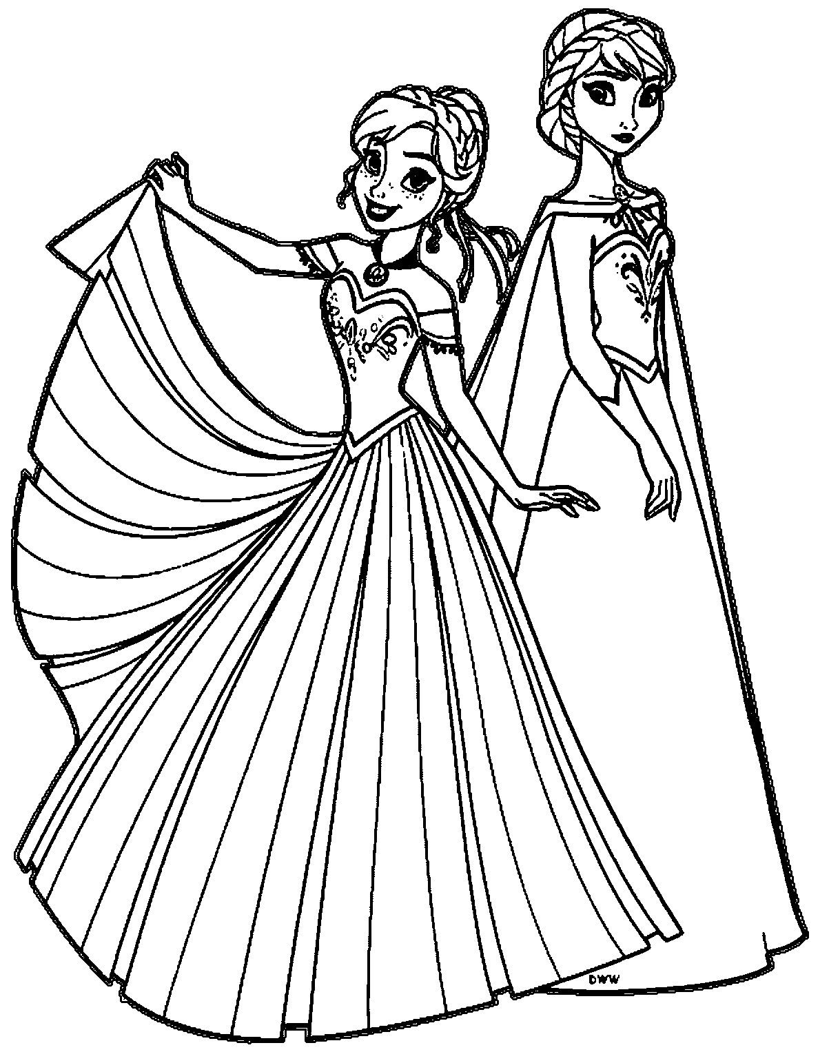 Anna Coloring Pages 28 Elsa Anna Coloring Pages Images Free Coloring Pages Part 3 Entitlementtrap Com Malen