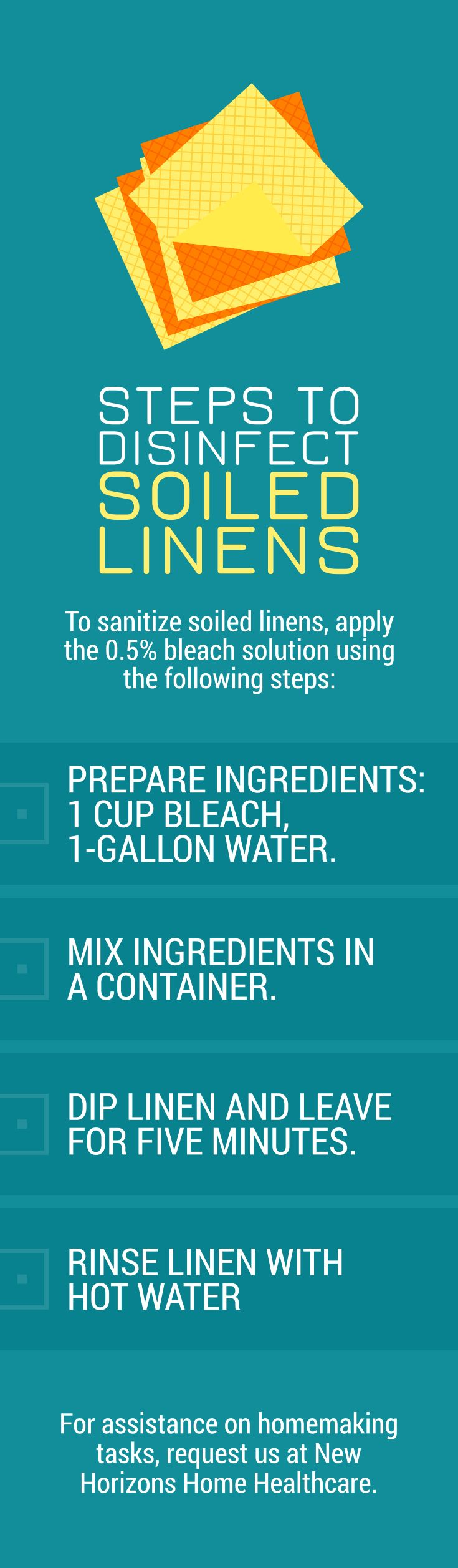 Steps to Disinfect Soiled Linens soiledlinens