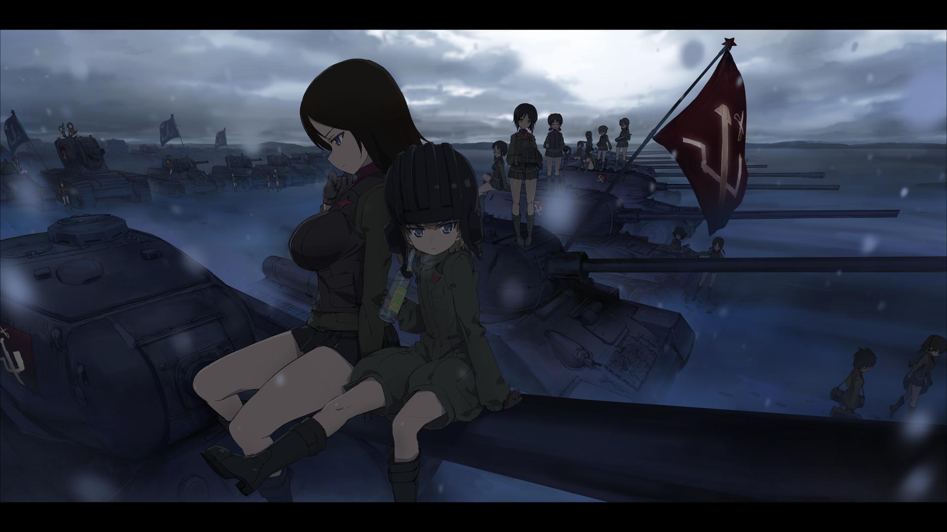 Girls Und Panzer Part 6 Ozcgef ガールズ パンツァー Girls Und